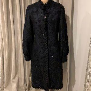 Authentic Oscar de la Renta  evening coat
